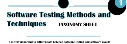 Overview of Software Testing Techniques and Methods